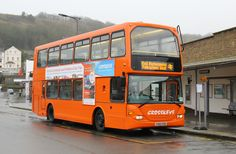 Ex Metrobus Scania Omnidekka 440 PZK) is now with Crosskeys Coaches and was seen today, January, on a rail replacement service at Dover Priory Station. Coach Travel, 31st January, Coaches, Trainers