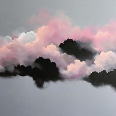Blush clouds by @brooklynwhelan #obusloves #madewithhands