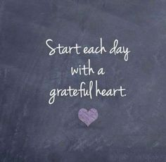 Start each day with a grateful heart. #LearningRx #grateful #gratitude