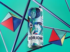 Georgian mineral water brand Borjomi likes taking on new challenges, applying fresh approaches and daring solutions in its ongoing efforts to evolve as a brand and reinvent its package design and advertising campaigns. Water Packaging, Water Branding, Beverage Packaging, Coffee Branding, Brand Packaging, Mineral Water Brands, Limited Edition Packaging, Festival Logo, Traditional Taste