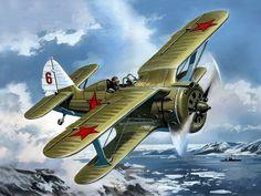 1941 I-153 Chaika - Valery Rudenko