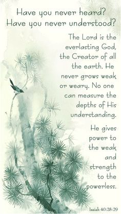 The Everlasting God