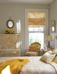 love the toile-front dresser.  I wonder if it's paper or fabric...