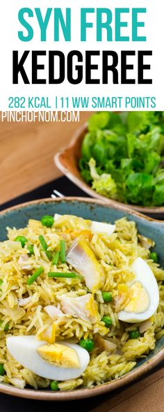Syn Free Kedgeree | Pinch Of Nom Slimming World Recipes 282 kcal | Syn Free | 11 Weight Watchers Smart Points