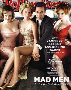 Mad Men- Elizabeth Moss, January Jones, Jon Hamm, Christina Hendricks