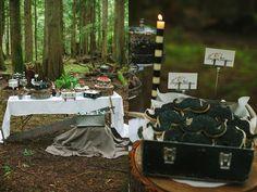 Preppy Lodge Wedding Inspiration