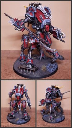 Warhammer 40k Figures, Warhammer Models, Warhammer 40k Miniatures, Warhammer 40000, Warhammer Art, Minis, Optimus Prime Toy, Imperial Knight, Carapace