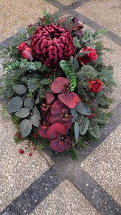 Funeral Reception, Card Box Wedding, Elegant Dresses, Floral Arrangements, Succulents, Wreaths, Flowers, Plants, Christmas