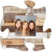 P Graham Dunn Puzzle Piece Print Frame Panel Art Multi Color Wood ** For more information, visit image link.