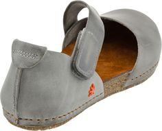 Art Creta 442 Women's Closed Toe Sandal (Grey)
