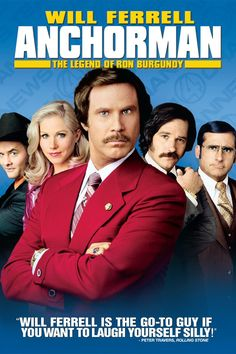 Anchorman - The Legend Of Ron Burgundy | we❤movies