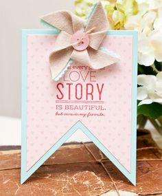 Tutorial: Pinwheels for Your Cards