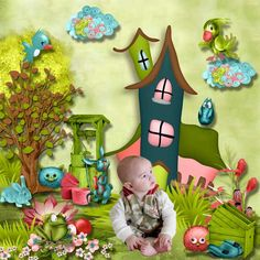 My enchanted Village by Kastagnette   now at my memories [ link ]   also at digiscrapbooking.ch : [ link ] scrapbird: [ link ] go d...