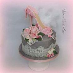 High Heel  Cake! by Karen Dodenbier