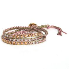 Triple Wrap Bracelet Meadow, $29, now featured on Fab.