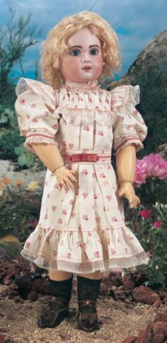 For the Love of Dolls, The Mildred Seeley Collection: 186 All Original French Bisque Bebe Jumeau
