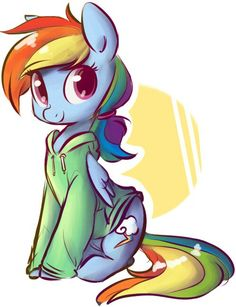 dash, rainbow, and rainbow dash image