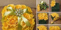 Elegantný rozkvitnutý balík ruží | Návod
