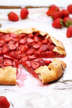 Strawberry Galette, yum!