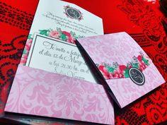 Invitaciones y tarjetones para libro de firmas. Pedidos al 3815078536