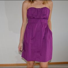 "URBAN OUTFITTERS Summer Dress Strapless dress with pockets.  Length: 38"" Bust 27"" Cotton 60%  Modal 40 %.  Fits 4/6 Urban Outfitters Dresses"