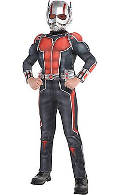 Boys Ant-Man Muscle Costume