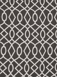 Modern Upholstery Fabric by the Yard , Charcoal Gray and White Abstract Upholstery Fabric Yardage
