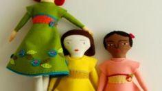 Realizzate la bambola di Mimi Kirchner con il cartamodello gratuito