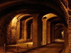 Tunnels, Guanajuato, México.