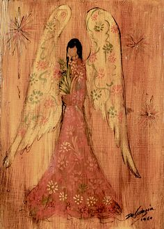Angel Art via DeGrazia Gallery In The Sun