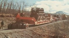 Totran 1976 Oil Field, Heavy Duty Trucks, Peterbilt, Heavy Equipment, Old Trucks, Rigs, Trailers, Transportation, Legends