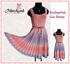 Crochet Enchanted sun dress