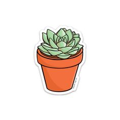 "Succulent Sticker — blank tag co. - StickersThe Succulent Sticker — blank tag co. - Stickers ""Sunflower"" Stickers by katielavigna Cactus Stickers, Red Bubble Stickers, Phone Stickers, Cool Stickers, Printable Stickers, Cute Laptop Stickers, Macbook With Stickers, Preppy Stickers, Kawaii Stickers"