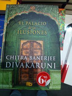 El palacio de las ilusiones de Chitra Banerjee Divakaruni