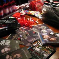 Twilight movie themed party