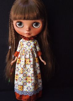 A personal favorite from my Etsy shop https://www.etsy.com/listing/465140054/ruffle-sleeve-dress-fir-blythe-dolls
