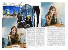 """Date with Minjae"" by park-sojin ❤ liked on Polyvore featuring Oris, J Brand, Chicnova Fashion, Dr. Martens and Eugenia Kim"