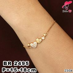 925 Sterling Silver Double Golden Butterfly Open Rings For Women Original Handmade Lady Prevent Allergy Sterling–silver-jewelry – Fine Sea Glass Jewelry Gold Bangles Design, Gold Earrings Designs, Gold Jewellery Design, Bracelet Designs, Necklace Designs, Handmade Jewellery, Bracelet Patterns, Gold Bracelet Indian, Gold Bracelet For Women
