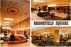 Brookfield Square, a Milwaukee-area mall opened in 1967