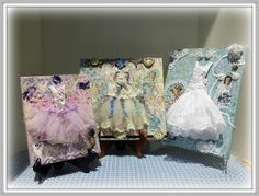 Linda Walsh Originals Dolls and Crafts Blog: My Romantic Journey On Canvas Class Projects