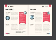 Event Guide on Behance in SWSM Event Program