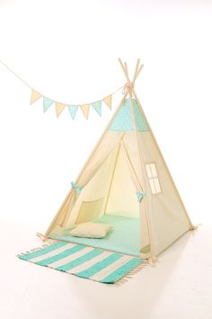 Kids teepee play tent wigwam, children's teepee, playtent, tipi, wigwam, kids teepee, tent, play teepee, high quality wigwam  TIPI ENFANTS
