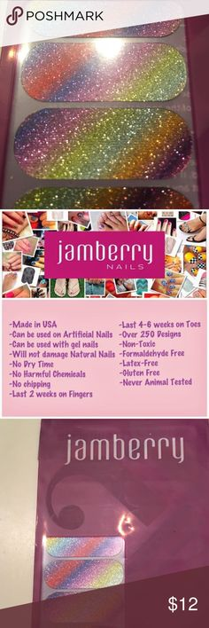 Jamberry Full Set A metallic rainbow shines across the universe (and your hands) on this wrap. Jamberry Makeup