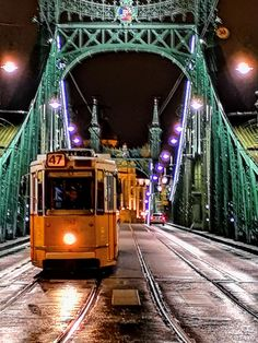 Liberty Bridge in Budapest, Hungary Cantilever Bridge, Liberty Bridge, Danube River Cruise, Central And Eastern Europe, Budapest Hungary, Most Visited, Prague, Where To Go, Places Ive Been