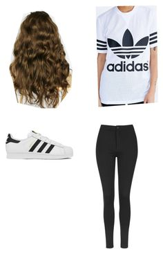 """Untitled #101"" by shanena-ameena on Polyvore featuring Topshop, adidas, women's clothing, women's fashion, women, female, woman, misses and juniors"