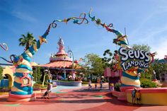 Seuss Landing, Universal Studios, Florida