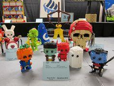 LEGO - Halloween Kidz Lego Halloween, Halloween Stuff, Lego Deadpool, Lego Display, Lego Club, Lego Boards, Red Vs Blue, Lego For Kids, Lego Storage