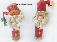 Como hacer adornos navideños con material reciclado : cosascositasycosotasconmesh