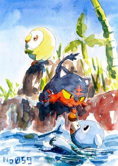 Pokemon Sun & Moon Starters