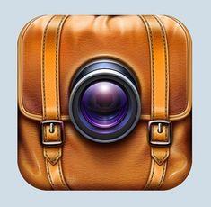 Des icônes iOS hypers réalistes by Ramotion